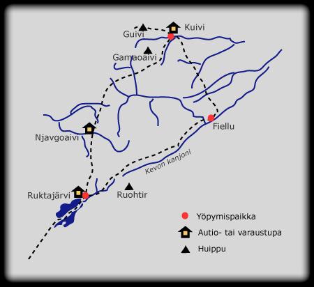 Kevo Kartta